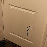 Gandalf's Mark Door Decal