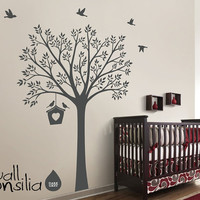 Tree Wall Decal Wall Sticker for Nursery by WallConsilia