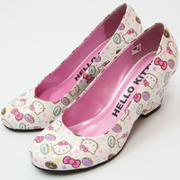 Hello Kitty Pumps High Heel Wedding Shoes Kawaii SANRIO Japan Import Gift F/S