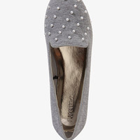 Pearlescent Bead Heathered Loafers | FOREVER 21 - 2043357952