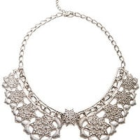 MKL Accessories Necklace Serves Pleasure Collar in Silver