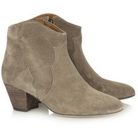 Isabel Marant|The Dicker suede ankle boots|NET-A-PORTER.COM