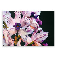 Studio Arts Purple Iris Wall Art