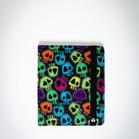 Yak Pak Rainbow Skulls iPad Case