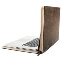 Twelve South BookBook Carrying Case for 15&quot; Notebook - Classic Black Leather