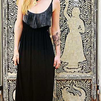 Goddess Romantic Maxi Dress, Bohemian Princess