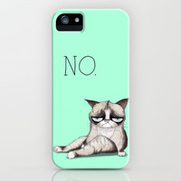 My Grumpy Cat 3 iPhone &amp; iPod Case by stylishbunny