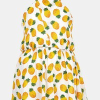 Topshop Pineapple Print Sundress | Nordstrom
