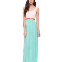 Colorblocked Maxi Dress | FOREVER21