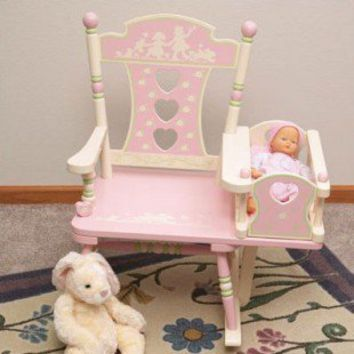 Levels of Discovery Rock A Buddies Rock-A-My-Baby Rocker - RAB00030 - Rocking Chairs - Nursery Furniture - Baby & Kids' Furniture - Furniture