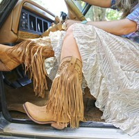 THE RAMBLER FRINGE BOOT