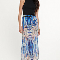 Kendall & Kylie Printed Maxi Skirt at PacSun.com