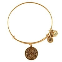 Alex and Ani Path Of Life Charm Bangle - Russian Gold