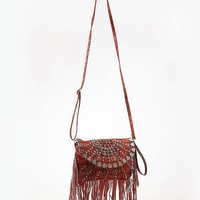 Studded Fringe Crossbody Purse - Women&#x27;s Bags | Buckle