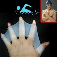 Silicone Swim Gloves