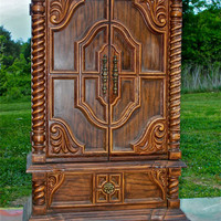 Retro Armoire *Custom Design* You Choose the Color, I do the Work by AquaXpressions