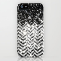 Chevron Universe iPhone & iPod Case by Belle13