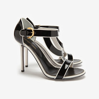 Sergio Rossi Beverly Patent High Heel Sandal-All-Shoes-Categories- IntermixOnline.com