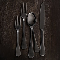 Blakes 20-Piece Place Setting Blackened Stainless Steel