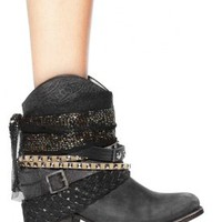 Steve Madden Freebird by Steven Mezcal Bootie in Black | SINGER22.com