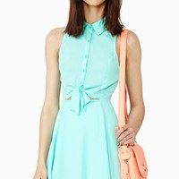 Cool Breeze Shirtdress