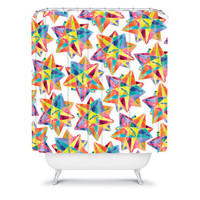 DENY Designs Home Accessories | CMYKaren Star Power Shower Curtain