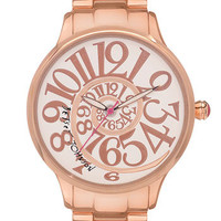 Betsey Johnson &#x27;Lots &#x27;n&#x27; Lots of Time&#x27; Swirl Dial Watch | Nordstrom