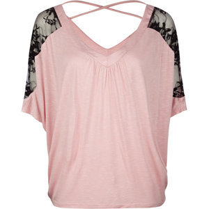 FULL TILT Lace Sleeve Womens Top 183062350 | tops | Tillys.com
