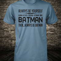 Batman Shirt Funny Batman Tee Humorous Superhero Shirt Large Xlarge Medium Small