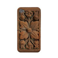 India Stone Flower iPhone 4 Case from Zazzle.com