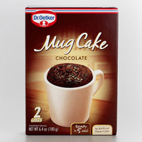 Dr. Oetker Chocolate Mug Cake 2-Pack | World Market