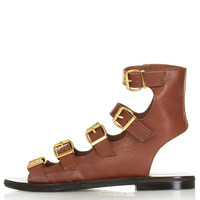 FABLE Multi Buckle Sandals - View All - Shoes - Topshop USA