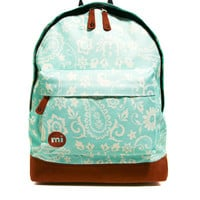 Mi Pac Vintage Floral Print Backpack