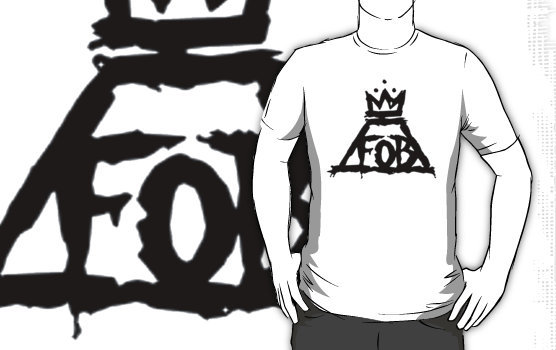 fall out boy save rock and roll logo from redbubble epic