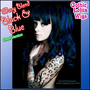 WAVY BLEND LOLITA - Black & Blue (Short Version) - Gothic Lolita Wigs Store