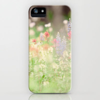 SUMMER HIKE  iPhone & iPod Case by Leslee Mitchell