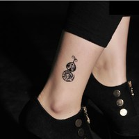 4 Pcs Lucky Snake Year Cute Snake Temporary Waterproof Tattoo Stickers - Tattoos - Makeup - Women Free Shipping