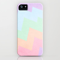 Blaze: 1987 - Purple, blue, mint green, peach & pink pastels. iPhone & iPod Case by CMcDonald