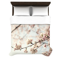 "Catherine McDonald ""Japanese Cherry Blossom"" Duvet Cover 