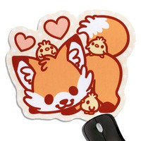 Sugar Bunny Shop - Doki Fox Mousepad