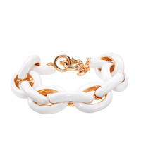 Classic enamel link bracelet - bracelets - Women - J.Crew