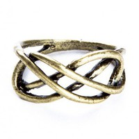 Brandy ♥ Melville |  Brass Infinity Ring - Rings - Jewelry - Accessories