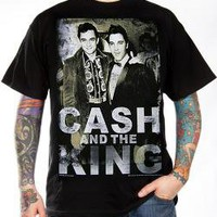 Johnny Cash, T-Shirt, Cash And The King