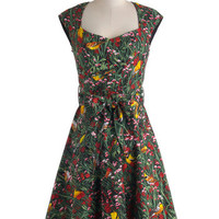 What a Tweet! Dress | Mod Retro Vintage Dresses | ModCloth.com
