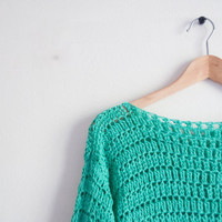 Crochet pattern sweater - easy