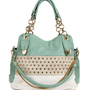 Pre-Order Mint Rhinestone Handbag