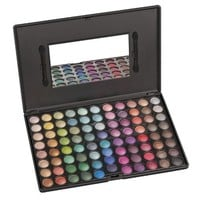 Coastal Scents 88 Eye Shadow Palette, Ultra Shimmer: Beauty