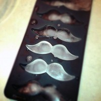 Mustache moustache shaped Ice cube Tray silicone baking chocolate mold jello mould