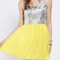 Urban Outfitters - bluejuice Brocade Tulle Skirt Dress