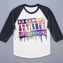 NEW Parental Advisory T-Shirt Galaxy T-Shirt Design Shirt Baseball Tee Shirt Long Sleeve Shirt Women T-Shirt Unisex T-Shirt (S, M, L)